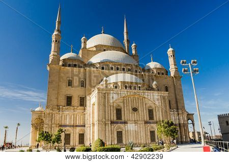 Great Mosque of Muhammad Ali in Cairo, Egypt