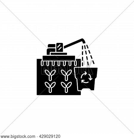 Provision Surplus Black Glyph Icon. Goods Excess. Supply Demand For Products. Excessive Amount Of Cr