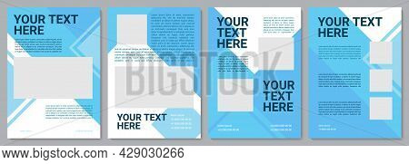 Product Offering Brochure Template. Organization Info. Flyer, Booklet, Leaflet Print, Cover Design W
