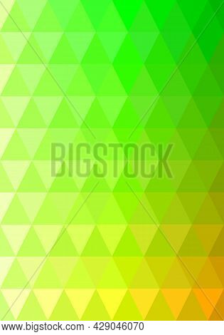 Triangle Shape Pattern. Gradient Blue To Pink. Abstract Background. Texture Design For Publications,