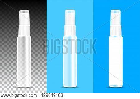Perfume Bottle Clear Spray On Transparent Background, Packaging Bottle Spray, Transparent Bottle Spr