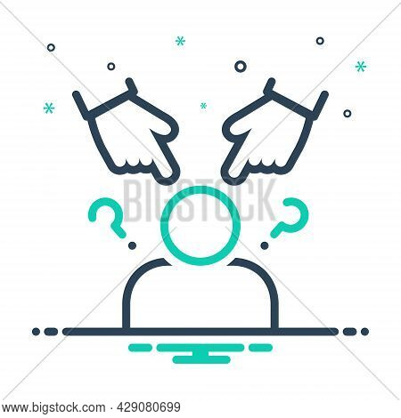 Mix Icon For Racial Racism Blaming Reprove Pillory Species Race Dynasty Family Descendant Category T
