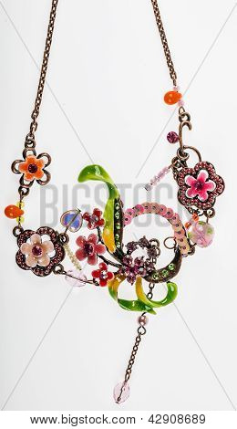 Colorful Vintage Pendant