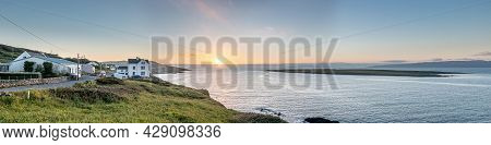 Sunset At Portnoo In County Donegal - Ireland