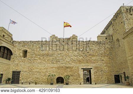 Castillo De Santiago In Sanlucar De Barrameda, Cadiz, Andalusia, Spain