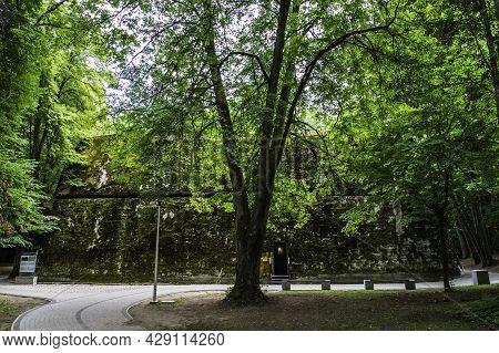 Hermann Gorings Bunker - The Wolfs Lair, In Wolfsschanze. Poland
