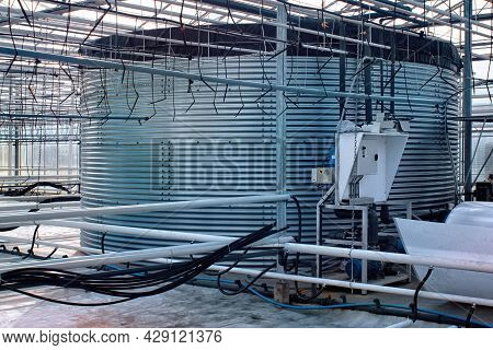 Part Of The Automatic Equipment In The Nursery Of Ornamental Plants.