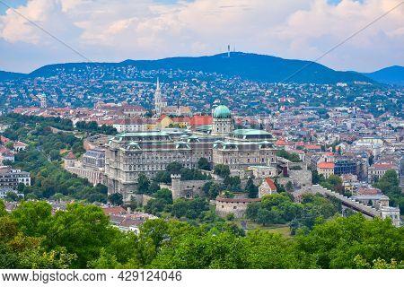 Buda Castle Or Royal Palace Of Buda, Budapest, Hungary