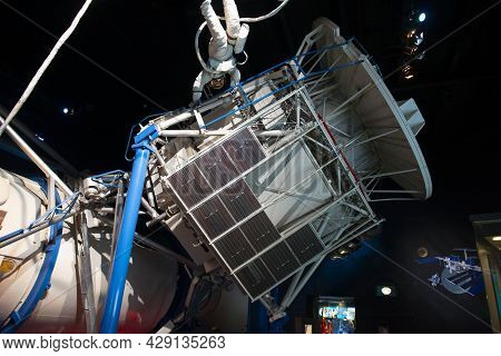 Houston, Tx, Usa - Dec. 15, 2018: Skylab Training Model Displayed In Johnson Space Center In City Of