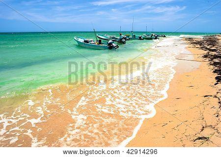 Yucatan Peninsula Beach