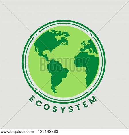 Biosphere Division With Labeled Ecosystem Explanation Scheme Outline