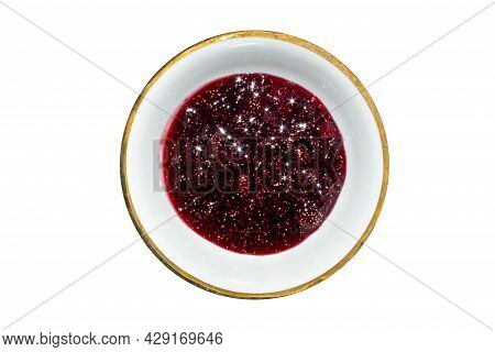 Wild Berry Strawberry.the Background Is A Strawberry Berry.strawberry Jam.