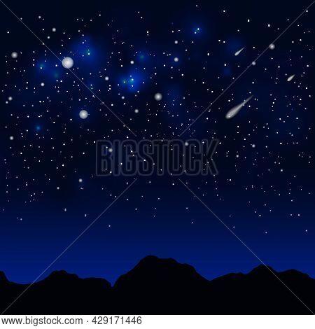 Dark Space Background.