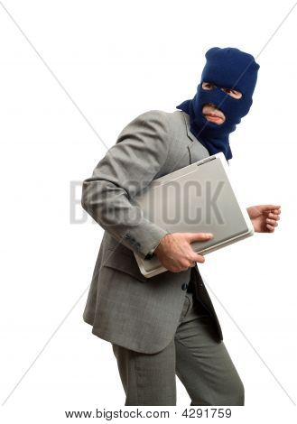 Thief Getting Away