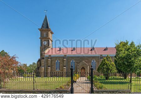 Rouxville, South Africa - April 23, 2021: The Dutch Reformed Church, In Rouxville In The Free State