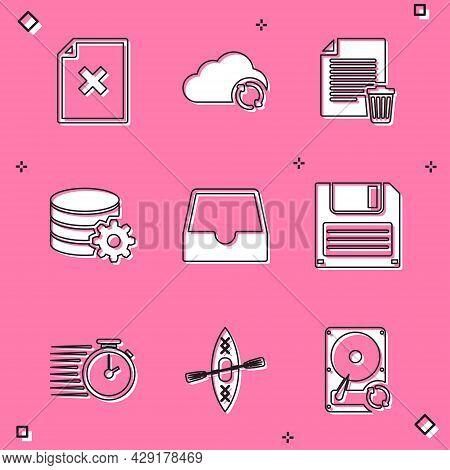 Set Delete File Document, Cloud Sync Refresh, , Setting Database Server, Social Media Inbox And Flop