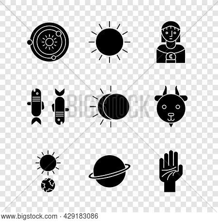 Set Solar System, Sun, Astrology Woman, Solstice, Planet Saturn, Palmistry Of The Hand, Pisces Zodia