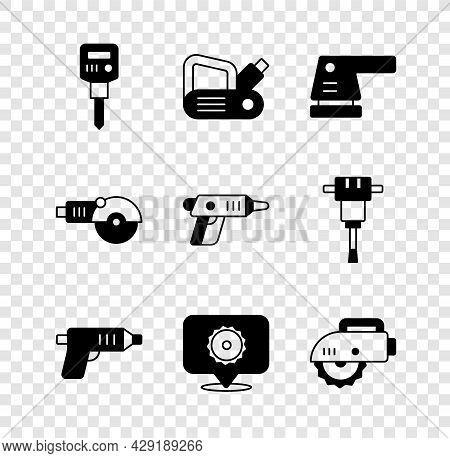 Set Construction Jackhammer, Electric Planer Tool, Sander, Cordless Screwdriver, Circular Saw Blade,