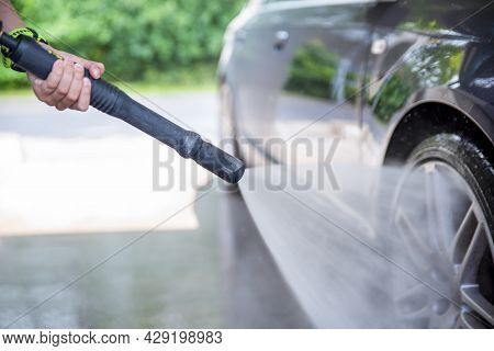 Car Wash. Car Care, Car Wash Cost And Car Wash Services. Copy Space