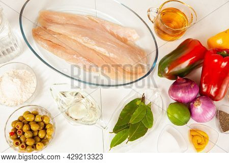 Fish Marinade Preparation Steps: Ingredients To Prepare Sea Bass Marinade