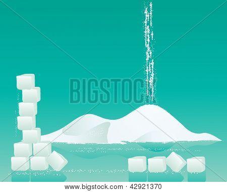 Sugar Background