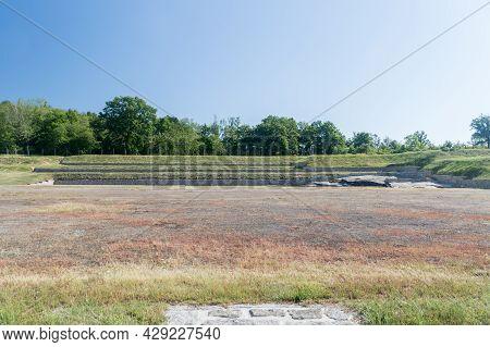 Rogoznica, Poland - June 3, 2021: Former Nazi Concentration Camp - Gross-rosen.