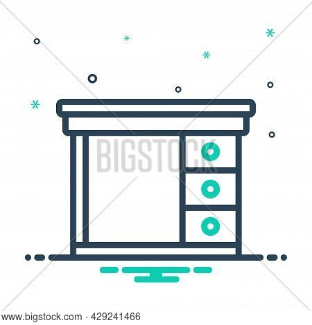 Mix Icon For Safety-desk Safety Desk Cupboard Cabinet Closet Furniture Shelf Wardrobe