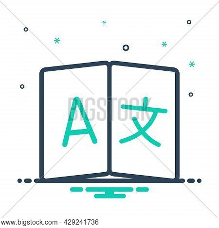 Mix Icon For Language Tongue Speech Idiom Accents Mother-tongue Translate