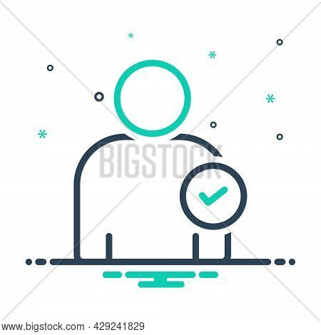 Mix Icon For Candidate Pretendent  Nominee Claimant Office Seeker Probationer Claimant Successor Pet