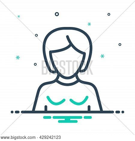 Mix Icon For Daughter Girl Gal Wench Lass Damsel Teenager Stripling Adult