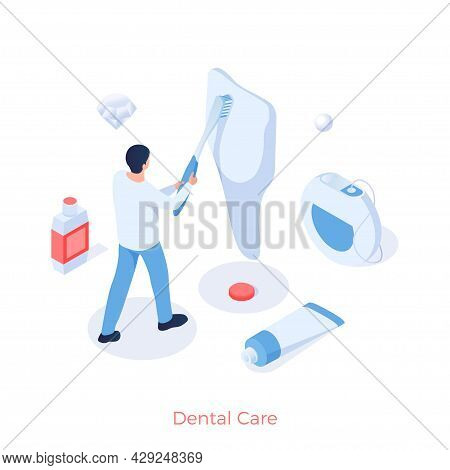 Care And Prophylaxis Of Dental. Stomatology Of Oral Cavity And Removal Calculus. Whitening Enamel An
