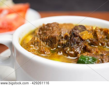 Tongseng, One Of Traditional Food From Indonesia