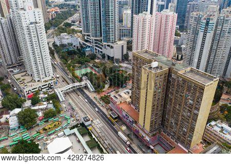 Wong Tai Sin, Hong Kong 22 January 2021: Hong Kong city