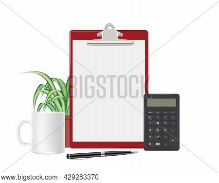 Work Accessories. Accounting Report, Filing Tax Return. Calculations, Banking And Financial. Blank P
