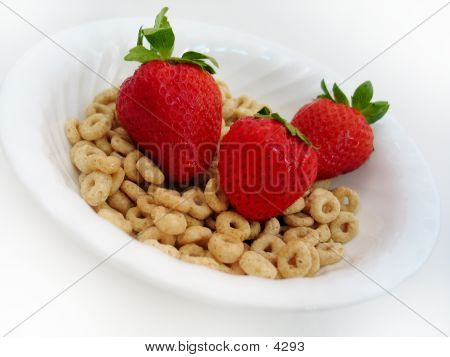 Strawberries And Cereal