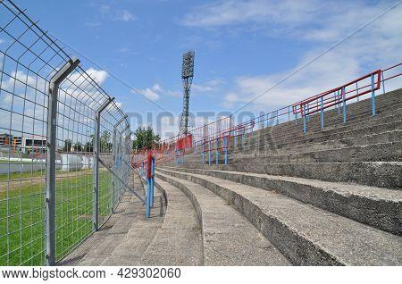 The Former Illovszky Rudolf Stadion Of Vasas Sc, Budapest.