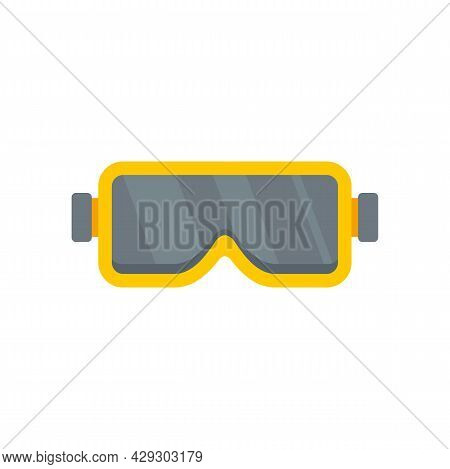 Construction Protect Glasses Icon. Flat Illustration Of Construction Protect Glasses Vector Icon Iso