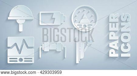 Set Resistor Electricity, Ampere Meter, Multimeter, Voltmeter, Electrical Measuring Instruments, Pan
