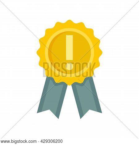 Success Emblem Innovation Icon. Flat Illustration Of Success Emblem Innovation Vector Icon Isolated