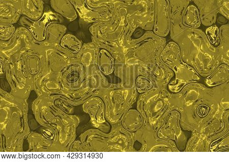 Design Energetic Lights In The Decorative Water Digital Graphic Texture Or Background Illustration