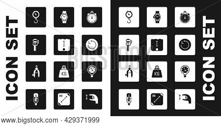 Set Stopwatch, Depth Measurement, Calliper Or Caliper And Scale, Hand Spring Mechanical, Radius, Wri