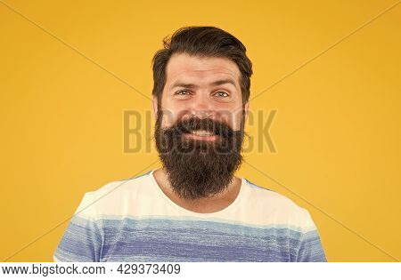 Hairdresser Salon. Fancy Mustache. Male Portrait. Barber Tips. Beard And Mustache. Hipster Style. Be