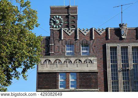Oberhausen City In Germany. City Hall (rathaus).