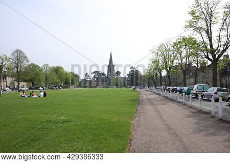 Views Of St Mary's Church And Church Green In Witney, Oxfordshire In The Uk, Taken 5th May 2008