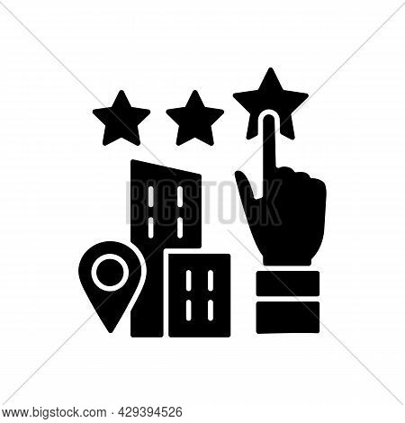 Goodwill Black Glyph Icon. Company Purchase. Intangible Business Asset. Sum Of The Net Fair Value. E