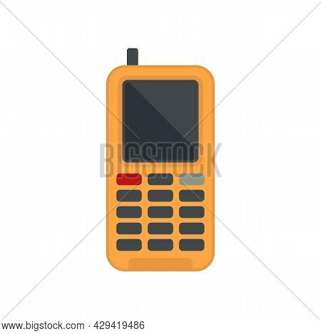 Survival Phone Icon. Flat Illustration Of Survival Phone Vector Icon Isolated On White Background