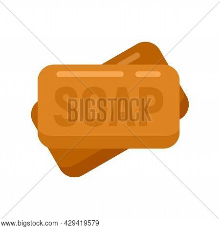 Survival Soap Icon. Flat Illustration Of Survival Soap Vector Icon Isolated On White Background
