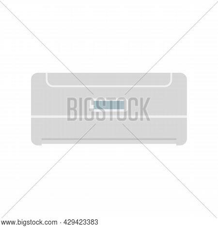 Balance Air Conditioner Icon. Flat Illustration Of Balance Air Conditioner Vector Icon Isolated On W