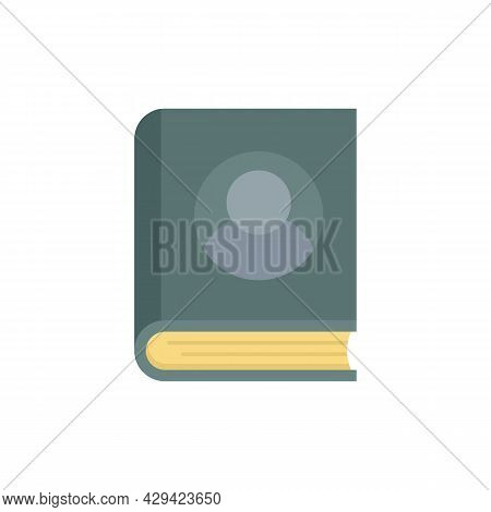 Life Skills Book Icon. Flat Illustration Of Life Skills Book Vector Icon Isolated On White Backgroun