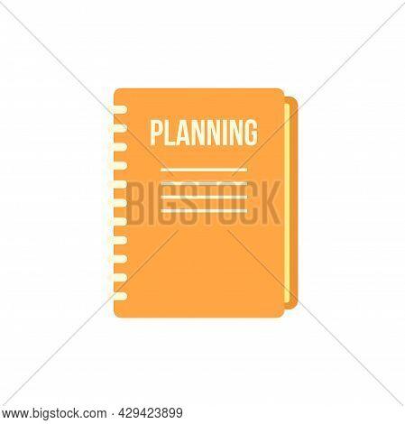 Life Skills Planning Icon. Flat Illustration Of Life Skills Planning Vector Icon Isolated On White B